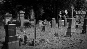 Mezara gömülen muska